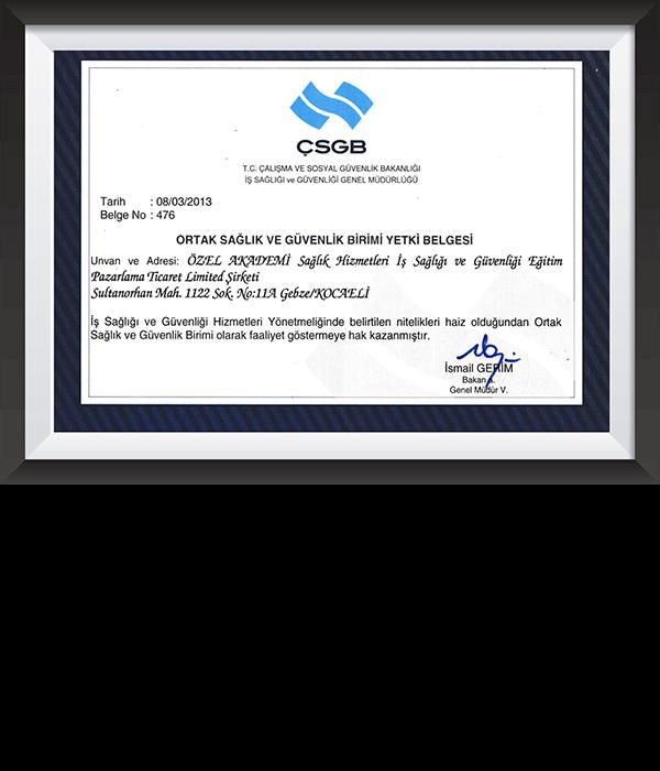 Anasayfa  - Özel Akademi OSGB - Gebze OSGB - İş Sağlığı ve Güvenliği